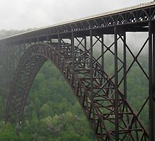 New River Gorge Bridge by Monnie Ryan