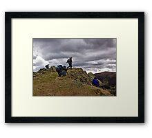 Action Men Framed Print