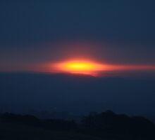 Vernal Equinox Lough Crew Dawn 3 by Caoimhe Mc Carthy