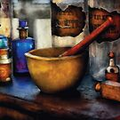 Pharmacist - Mortar and Pestle by Mike  Savad
