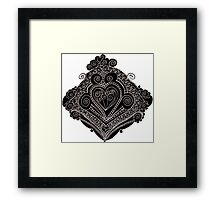 Wrought Heart Framed Print
