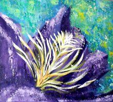 Purple Flower by Pamela Plante