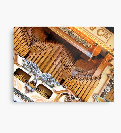 Abstract Organ Metal Print