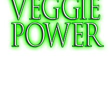VEGGIE, Veggie Power, Vegetarianism, Vegetarian, Vegan, Vegetables by TOM HILL - Designer