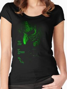 the Green Fairy Tshirt Women's Fitted Scoop T-Shirt