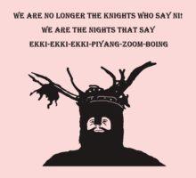 The Knights That Say Ni! Tshirt T Shirt Kids Clothes