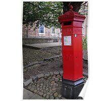 Victorian Pillar Box Poster