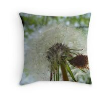 Dandelion Puff Throw Pillow