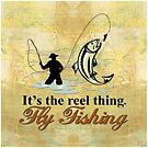 Fly Fishing Reel Thing  by SpiceTree