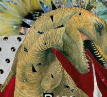 T-Rex Dinosaur - I Bite Sticker