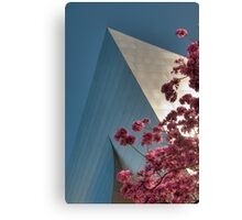 A Gehry Spring Canvas Print