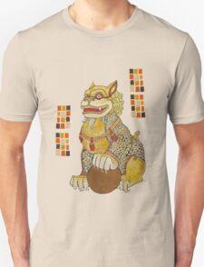 Laughing Fu Lion Tee Unisex T-Shirt