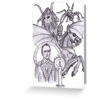 The Devil Rides Out Greeting Card
