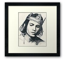 King II Framed Print
