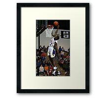 Slam Dunk! Framed Print