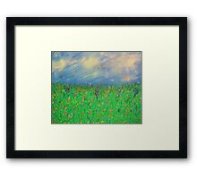"""The Sparse Field"" Framed Print"