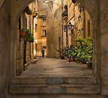 Tarxien Malta Archway by Edwin  Catania