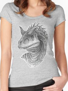 Carnotaurus Women's Fitted Scoop T-Shirt