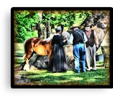 Like the Old Days Canvas Print