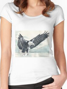 Eagle II Women's Fitted Scoop T-Shirt
