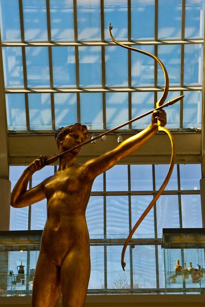 Saint-Gaudens Diana  by Dave Bledsoe