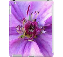 Lilac Beauty ~ Clematis unfolding iPad Case/Skin