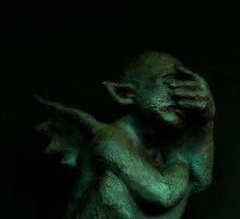 Despondent Gargoyle by Rita Ballantyne