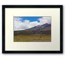 Cotopaxi National Park - Ecuador Framed Print