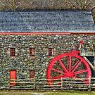 Wayside Inn Grist Mill by Monica M. Scanlan