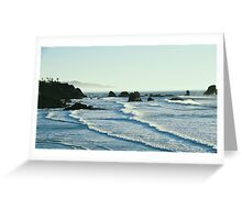 Carved by the Ocean Greeting Card