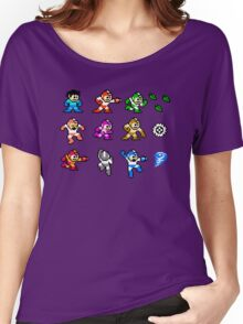 MegaMan Rainbow Women's Relaxed Fit T-Shirt