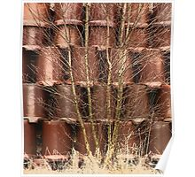 Clay Tub Fence Poster