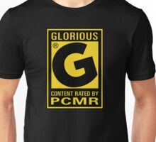 Content Rated GLORIOUS By PC Master Race Unisex T-Shirt