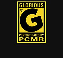 Content Rated GLORIOUS By PC Master Race T-Shirt