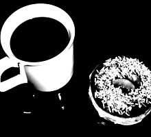 Coffee Break in Mono by Josephine Pugh