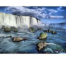 Iguacu falls Photographic Print