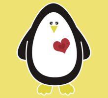 Lovable Penguin Kids Tee