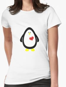Lovable Penguin Womens Fitted T-Shirt