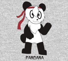 PANDANA! The panda in a bandana!  by Sharon Murphy