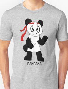 PANDANA! The panda in a bandana!  T-Shirt