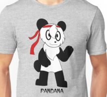PANDANA! The panda in a bandana!  Unisex T-Shirt