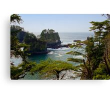 Cape Flattery Inlet, Washington Canvas Print