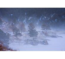 Colorado Winter Landscape Bouldr Canyon Photographic Print