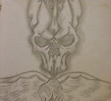 Skull by alkapone26