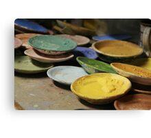 Ceramic Paint Canvas Print