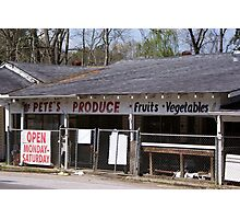 Pete's Produce Photographic Print