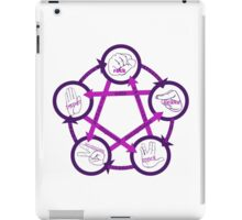Rock Paper Scissors Lizard Spock! iPad Case/Skin