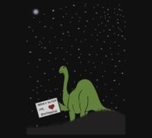I believe in you, Pluto! Love, Brontosaurus by Sharon Murphy