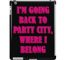 Going To Party City iPad Case/Skin