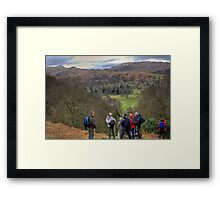 A Swarm of Bubblers Framed Print